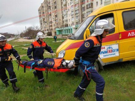 «КРЫМ-СПАС» тренируется. Во имя спасения людей