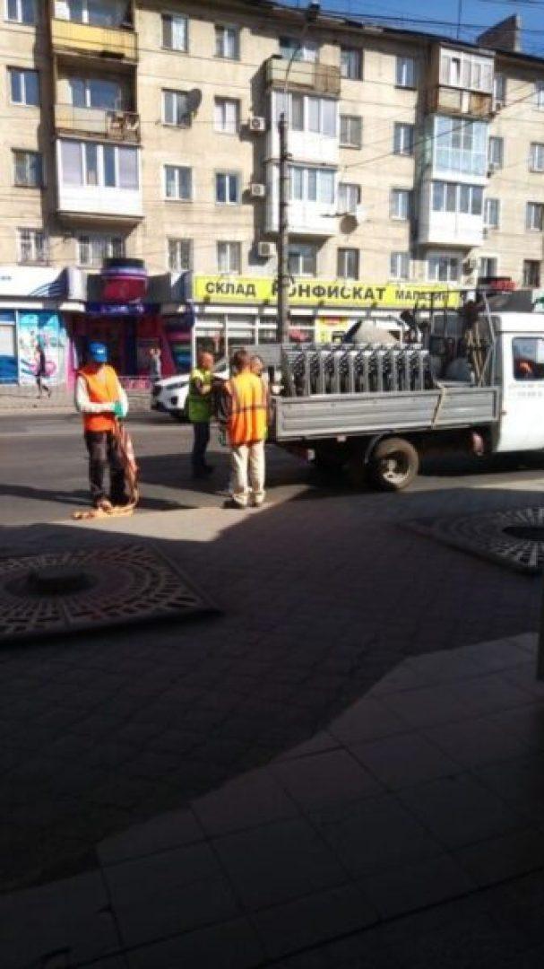 В Симферополе на площади Куйбышева переносят остановку общественного транспорта. «За кольцо»