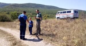 """Дежурные смены """"КРЫМ-СПАС"""" патрулируют горно-лесную зону полуострова"""