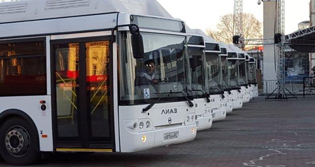 в Симферополе выделят почти 50 дополнительных автобусов