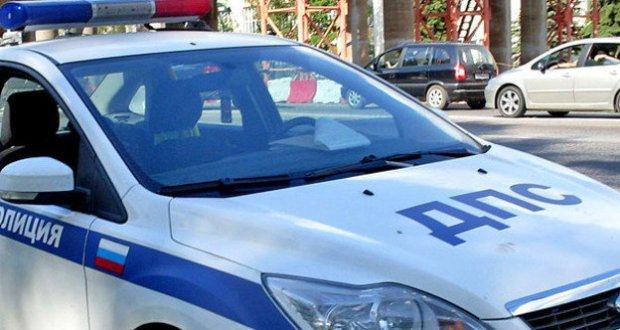 В Крыму проводится проверка по факту ДТП с участием патрульной машины