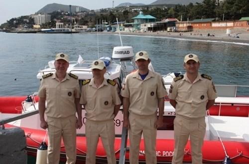 В Алуште поисково-спасательный катер назвали в честь спасателя