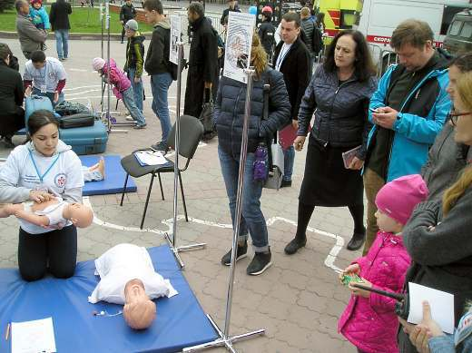 В Симферополе торжественно отметили 120-летие скорой медицинской помощи