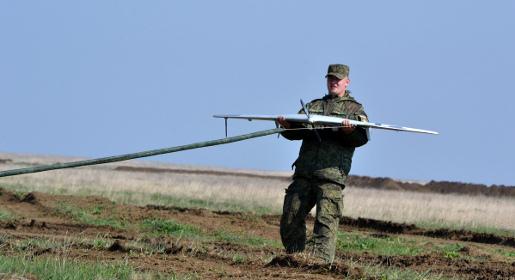 В Крыму прошли военные учения с использованием разведывательных беспилотников