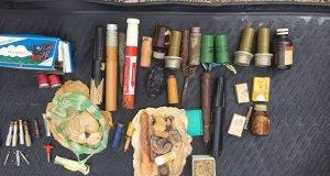 Житель Балаклавы устроил схрон оружия в собственном гараже