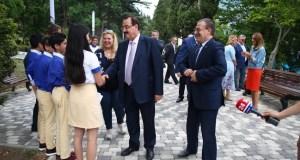 Посол Сирии в РФ побывал в Международном детском центре «Артек»