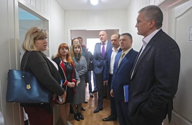 Проблемы села Первомайского Симферопольского района – на контроле Главы Крыма