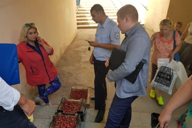 """16 мая в Симферополе """"гоняли"""" стихийных торговцев"""
