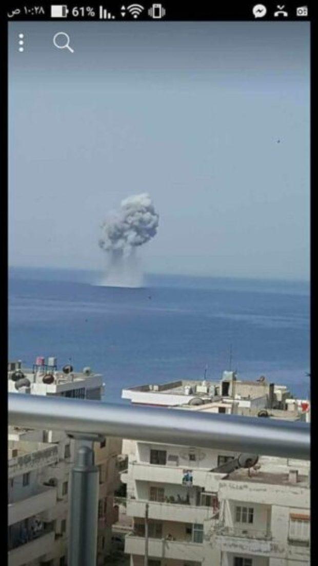Истребитель ВКС РФ Су-30СМ потерпел крушение над Средиземным морем. Летчики погибли