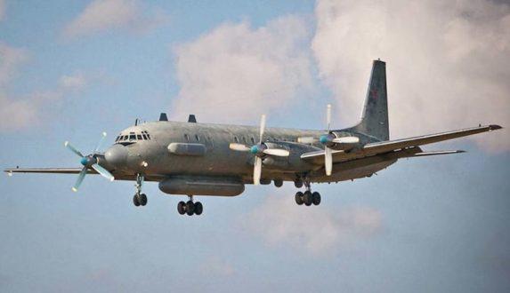 Королевские ВВС Великобритании сообщают о перехвате российского самолета Ил-20 над Черным морем
