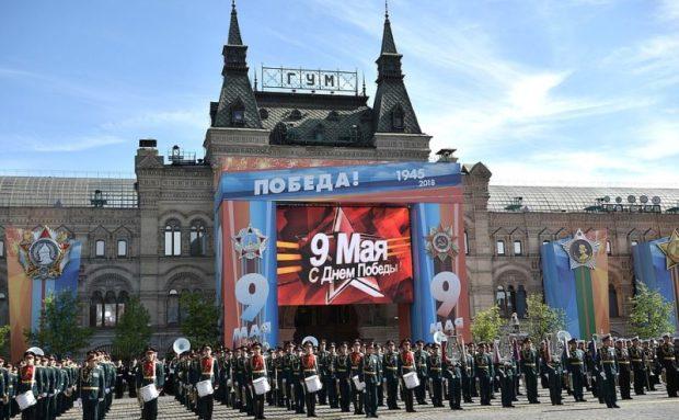 Владимир Путин поздравил граждан России с Днем Победы