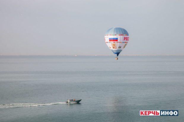 Аэростат «Россия» совершил рекордный перелет через Керченский пролив