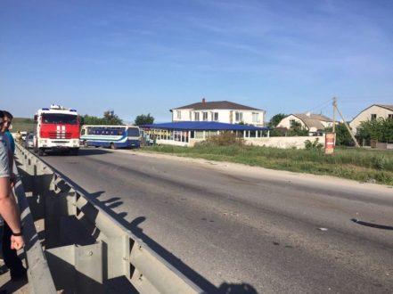 ДТП в Старом Крыму – и снова пробки