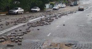 В ночь с 8 на 9 мая Севастополь пережил настоящий потоп