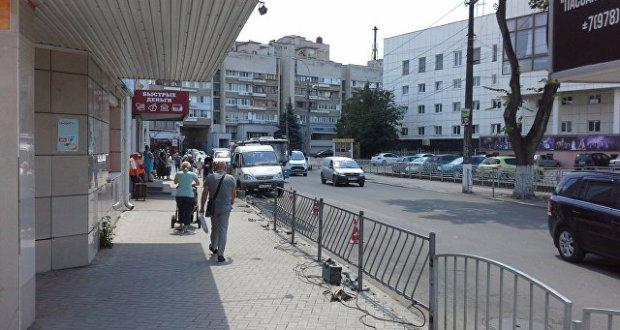 В Симферополе «убрали» остановку общественного транспорта «ЦУМ»