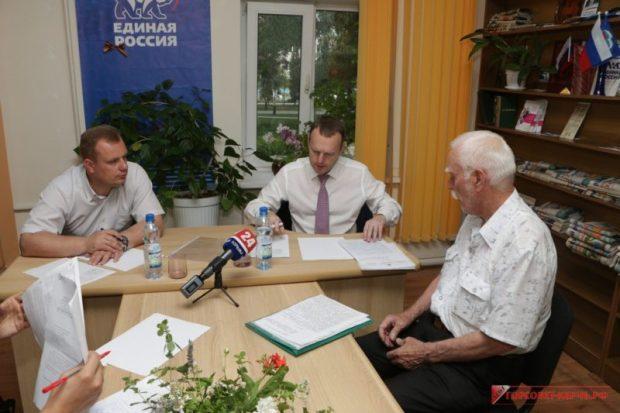 Рабочая поездка в Керчь депутата Госдумы РФ Константина Бахарева