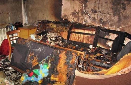 Пожар в крымском поселке Кировское. Спасен человек