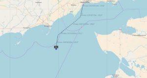 Украинские СМИ: ФСБ задержала в Азовском море турецкий балкер