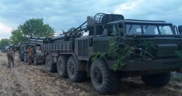 Украинские военные провели учения близ границы с Крымом