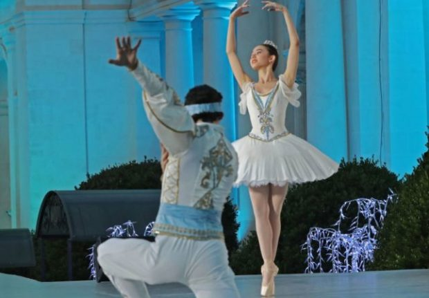 Открытие фестиваля «Великое русское слово» в Ливадии. Фото: пресс-служба Главы РК