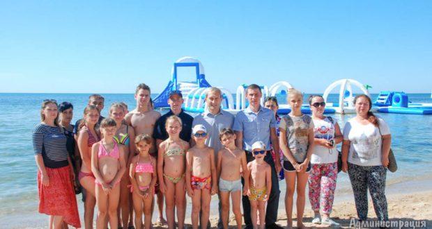 Дети Донбасса на отдыхе в Евпатории