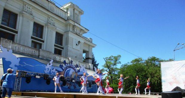 Детский праздник в Евпатории продолжился и в субботу