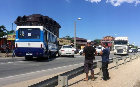 ДТП с участием автобуса под Феодосией. Есть пострадавшие