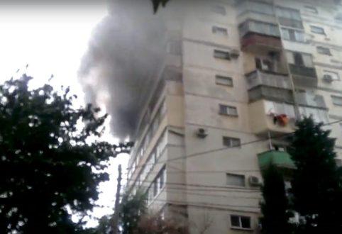 Пожар в севастопольской многоэтажке. Сгорели две квартиры