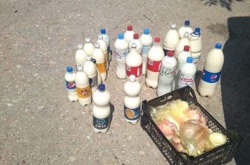 """В Симферополе """"текли молочные реки"""" - изымали продукцию у стихийных торговцев"""