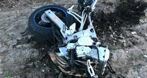 На трассе «Керчь - Феодосия» погиб мотоциклист