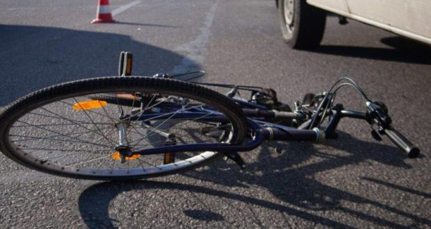 В Крыму «Mazda» сбила пьяного велосипедиста