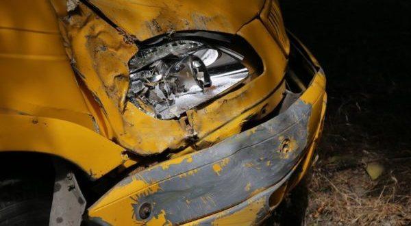 В Керчи нетрезвая компания угнала и разбила… автобус