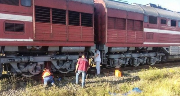 В Крыму поезд наехал на пьяного мужчину