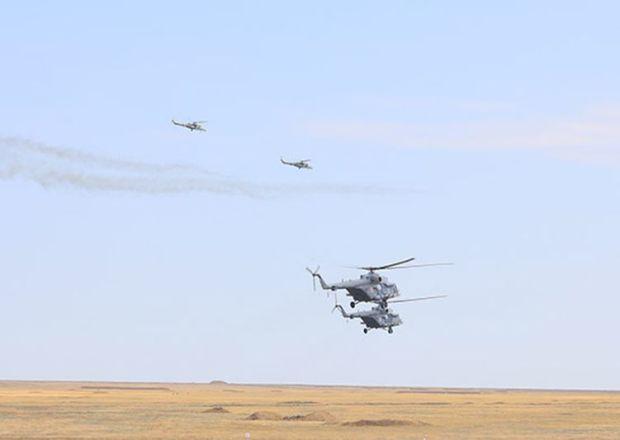 На крымском полигоне Опук авиация отразила высадку морского десанта условного противника