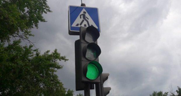 В Саках перенастроили светофоры. Пробки… не сильно-то и уменьшились