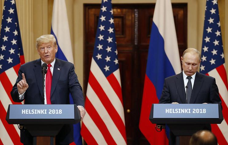 Один из итогов саммита Россия – США в Хельсинки: вопрос Крыма закрыт