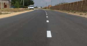 Крымавтодор отремонтировал проблемный участок дороги «Евпатория – Раздольное»