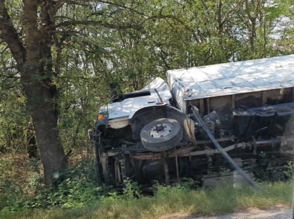 ДТП в Красногвардейском районе. Водитель микроавтобуса вздремнул за рулем
