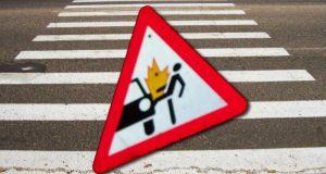 Утром в Феодосии, на Керченском шоссе погиб пешеход