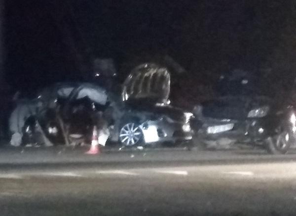 Смертельное ДТП в Симферополе. «Toyota Camry» врезалась в трактор