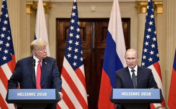 Вернемся в Хельсинки. О чем говорили президенты России и США на пресс-конференции по итогам саммита