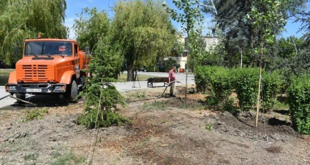 В Симферополе разработали технологическую карту содержания зелёных насаждений