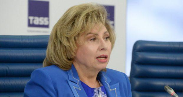 Уполномоченный по правам человека в РФ Татьяна Москалькова требует выпустить из СИЗО Елену Одновол