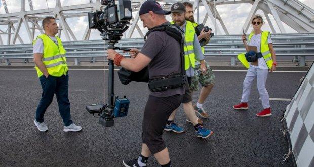 Причина пробок на Крымском мосту - съемки видеоклипа группы «Любэ»