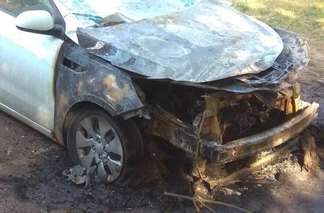 За сутки в Крыму сгорели три автомобиля