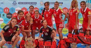 Сенсация, однако! Женская сборная России по пляжному футболу - победитель Кубка Европы