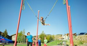 В Феодосии семилетняя девочка сорвалась с «тарзанки»