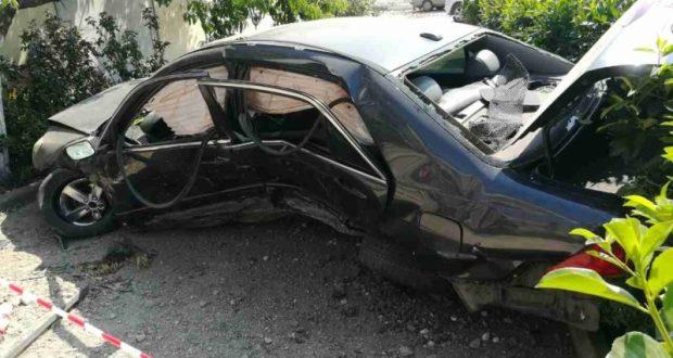 Ночное ДТП под Симферополем. Разбитый «Honda Accord», девичий «экипаж» - в больнице