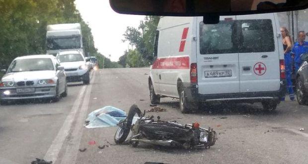 Смертельное ДТП в Инкермане. Погиб водитель мопеда