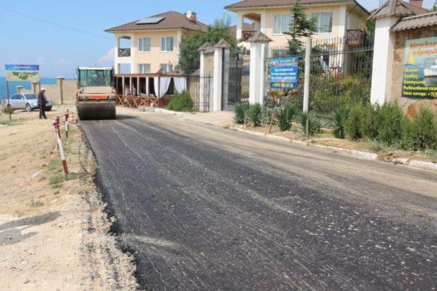 """На пляж """"Учкуевка"""" можно будет добраться по заасфальтированной дороге"""